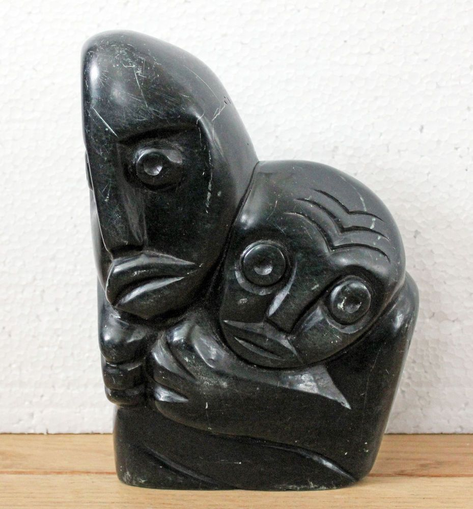 Vintage zimbabwe african shona stone art carving sculpture