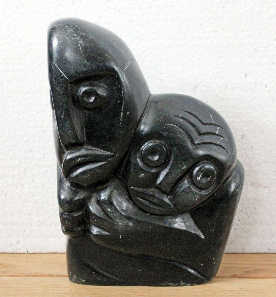 Vintage zimbabwe african shona stone art carving sculpture