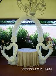 Resultado De Imagen Para Decoracion Con Globos Bodas Decoraciones - Adornos-con-globos-para-bodas
