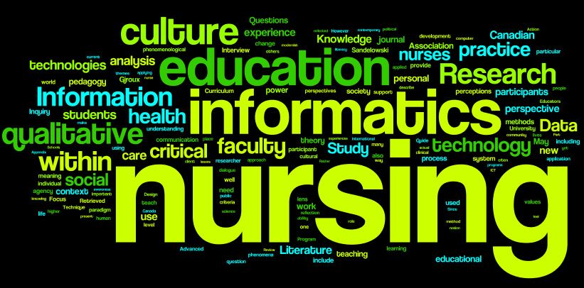 The difference between clinical informatics and nursing informatics.