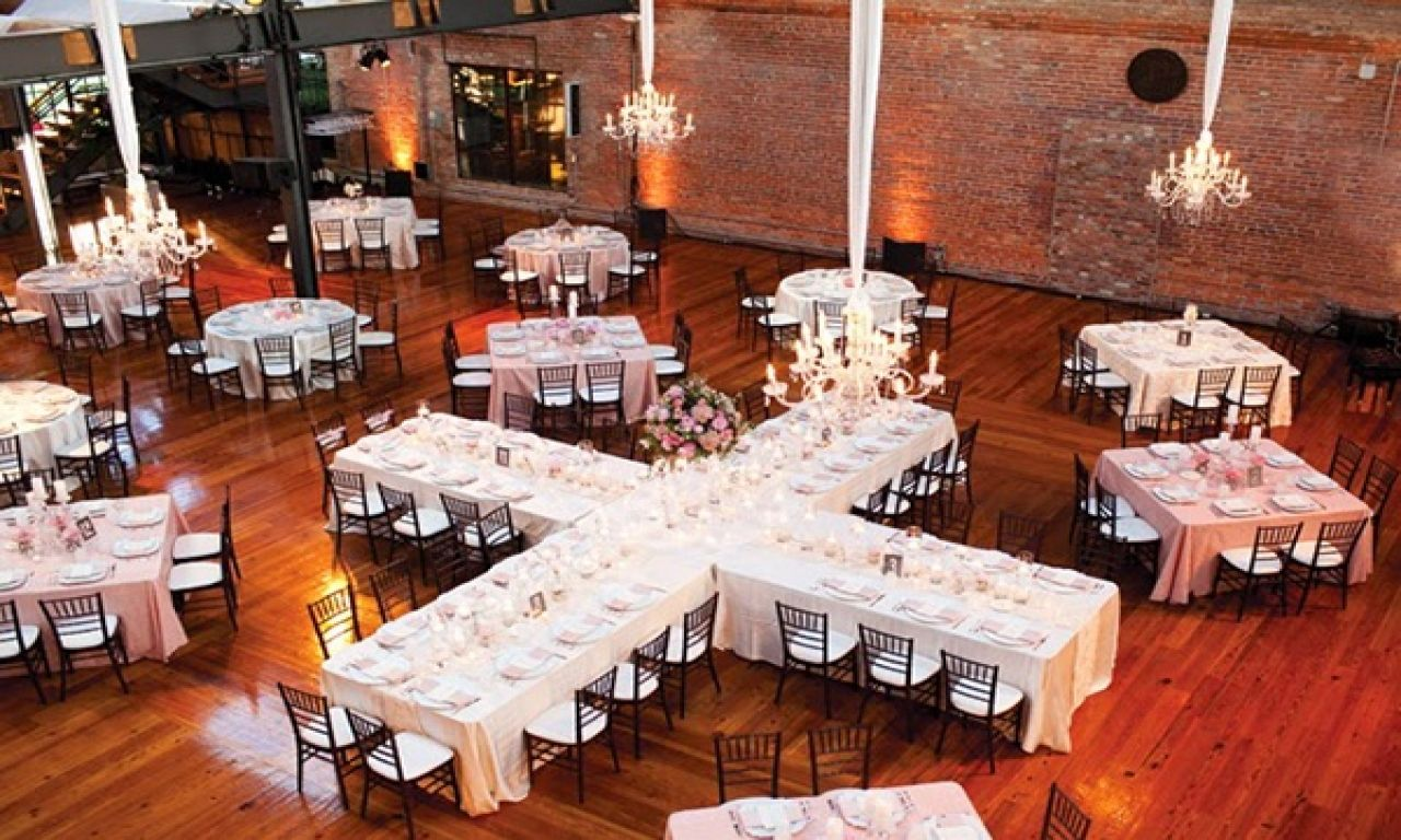 Banquet Table Layout Dimensions Wedding Reception Table Layout