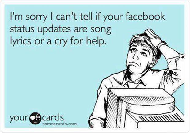 Facebook Status Updates Quotes Dump A Day