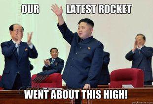 Image result for north korea missile jokes