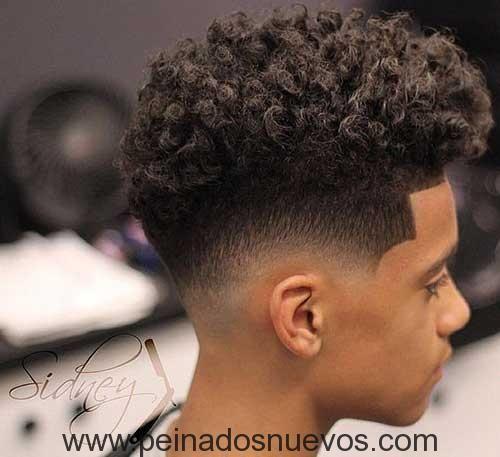 Cortes pelo afro corto hombre