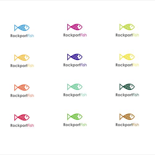 Rockport Fish Design A Logo For A New Fish Company Supplying The General Public Via Online Retailers Fish Logo Design Logo Design Contest Custom Logo Design