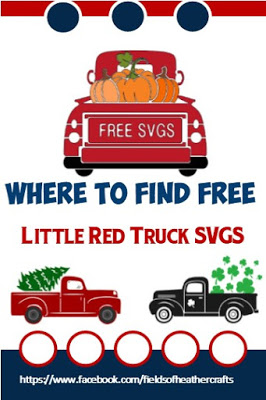 Vintage Red Truck Free SVGs & Project Ideas Vintage