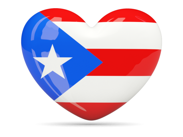 Heart Icon Illustration Of Flag Of Puerto Rico Heart Icons Flag Icon Puerto Rico Flag