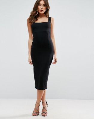 Thick strap maxi dresses