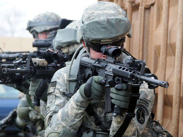 Colt M4A1 Carbine with SOPMOD Kit