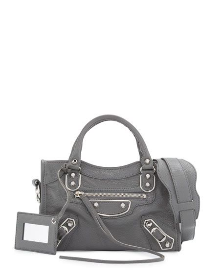 86de60d947be BALENCIAGA Metallic Edge City Mini Bag