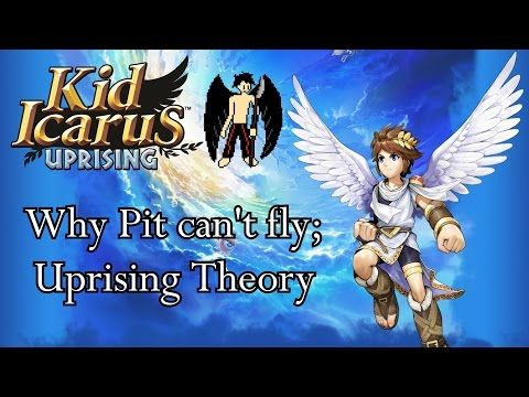 Why Pit Cant Fly Kid Icarus Uprising Theory