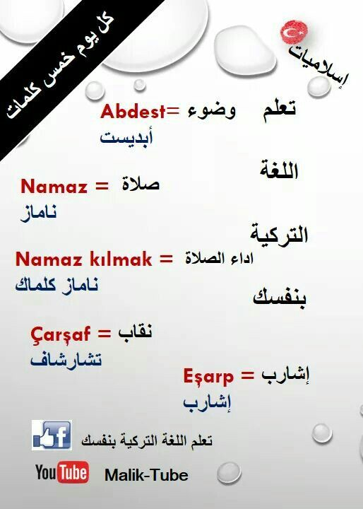 اسلاميات باللغة التركية Turkish Language Learn Turkish Language Turkish Lessons