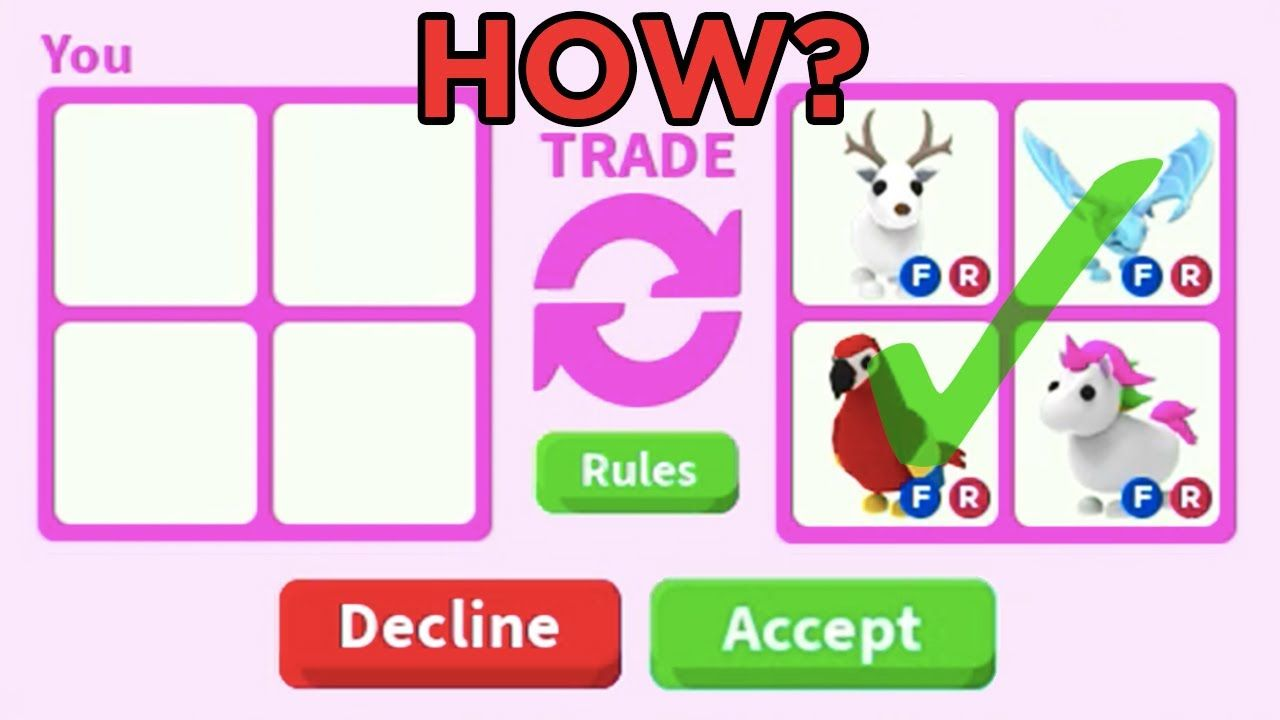 How To Get Free Legendary Pets Roblox Adopt Me Trading in