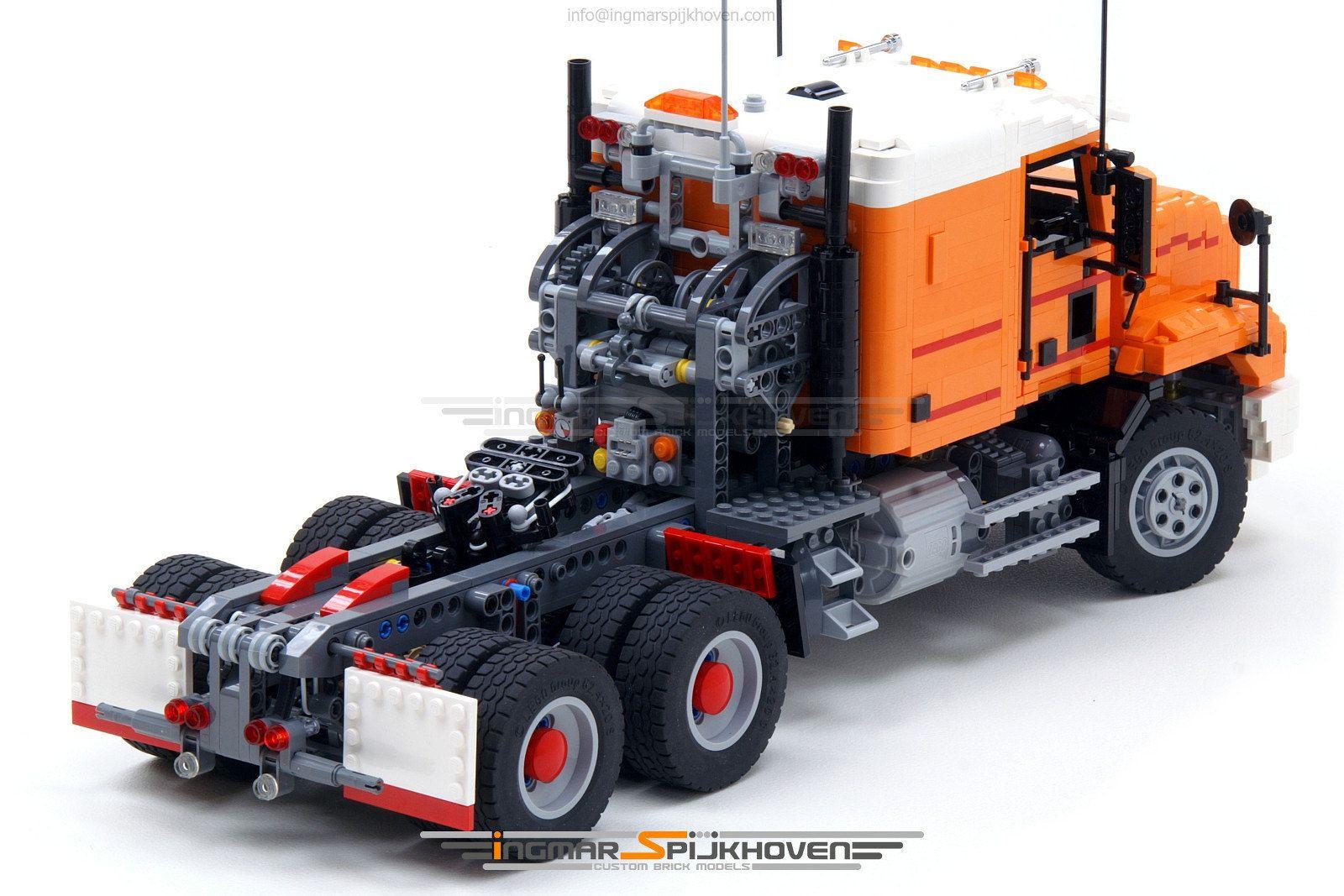 Truck T15 in 2020 Trucks, Lego truck