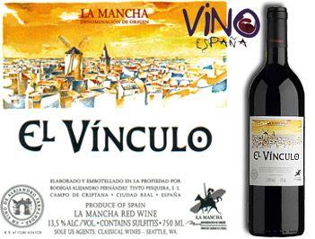 El Vinculo Crianza 2013 Precio 9 52 Uvas Botellas De Vino Vinos