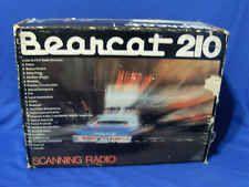 Vintage Bearcat 210 Scanner Radio Model BC210 Police Ham