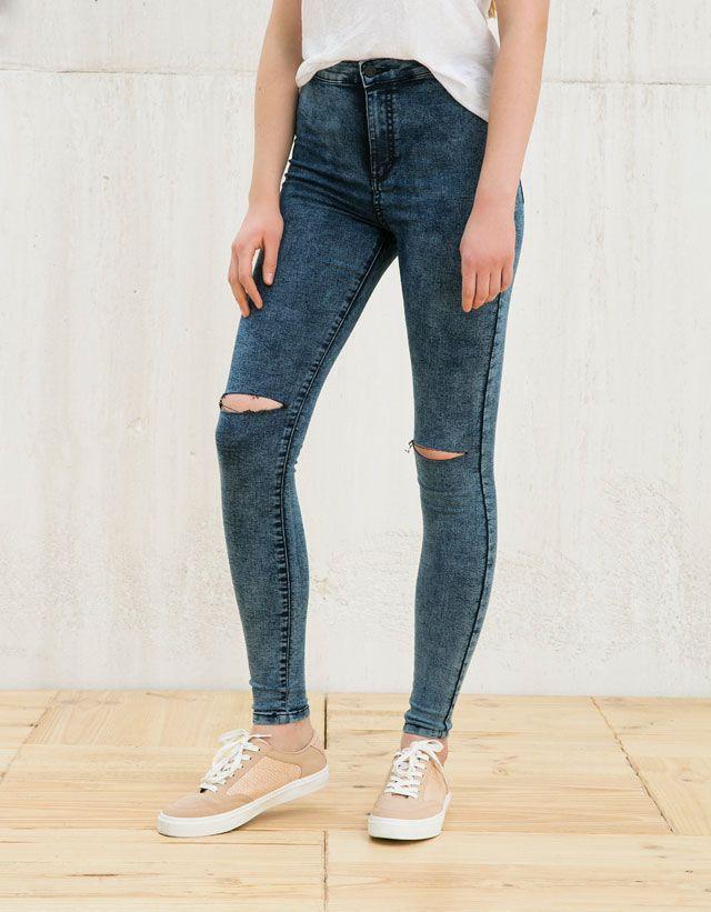Pantalones Bershka Mujer Tienda Online De Zapatos Ropa Y Complementos De Marca