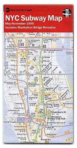 Nyc Subway Map Scan.15 Subway Maps That Trace Nyc S Transit History Vintage Subway