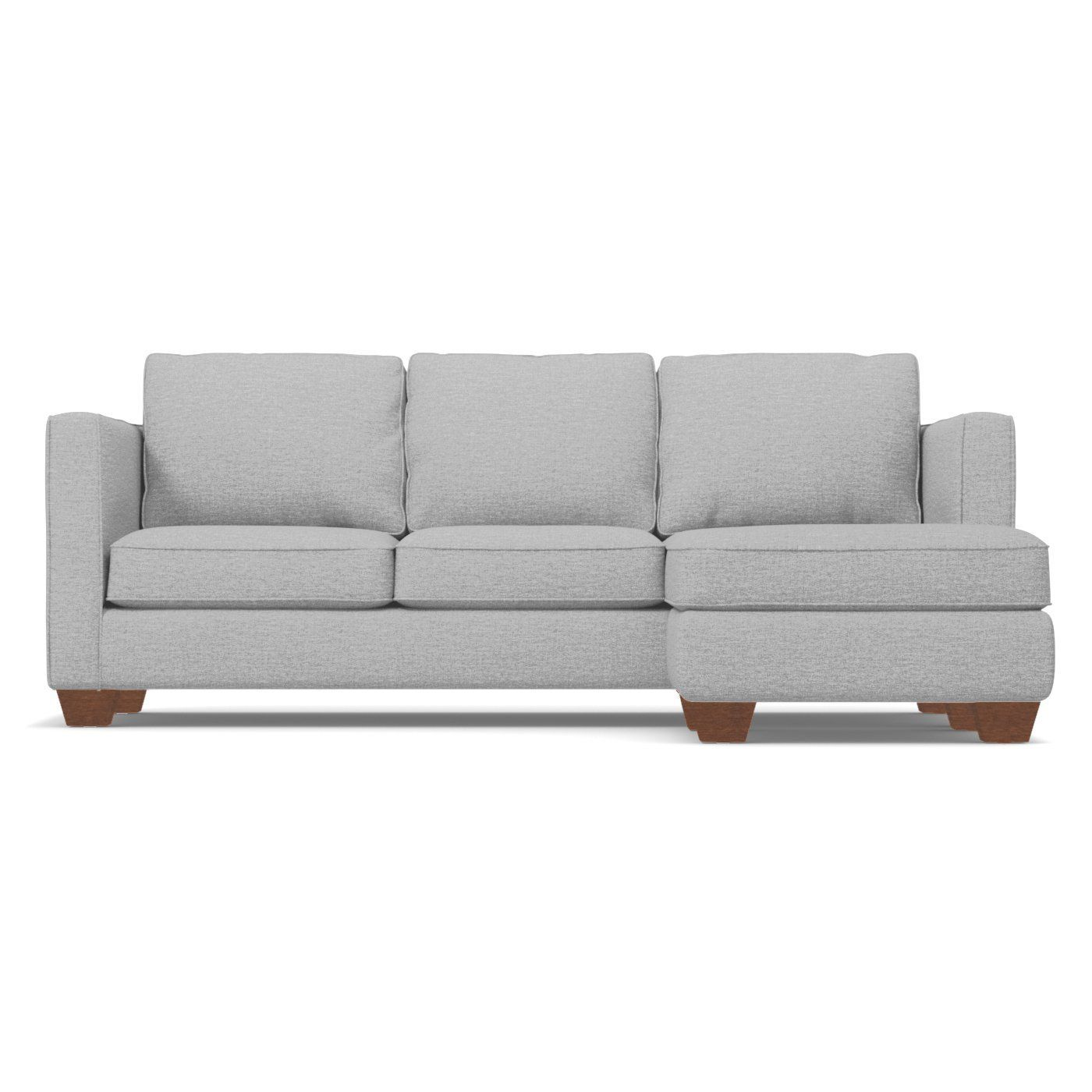 Catalina Reversible Chaise Sofa In Silver Chaise Sofa Sleeper