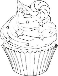 Pin By Isabel Marin On Shrink Plastic Cupcake Coloring Pages Coloring Pages Colouring Pages