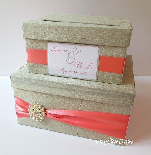 wedding card money box reception card holder custom made