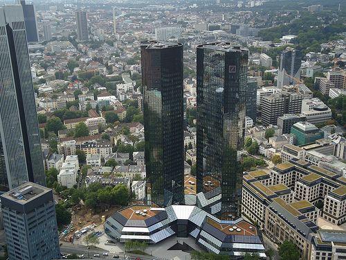 Frankfurt Am Main Deutsche Bank Building Frankfurt Frankfurt Am Main Banks Building