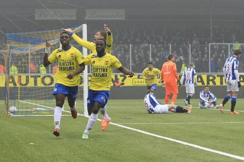 Ons Clupke Wint Cambuur Dkv Voetbal Play Fotografie