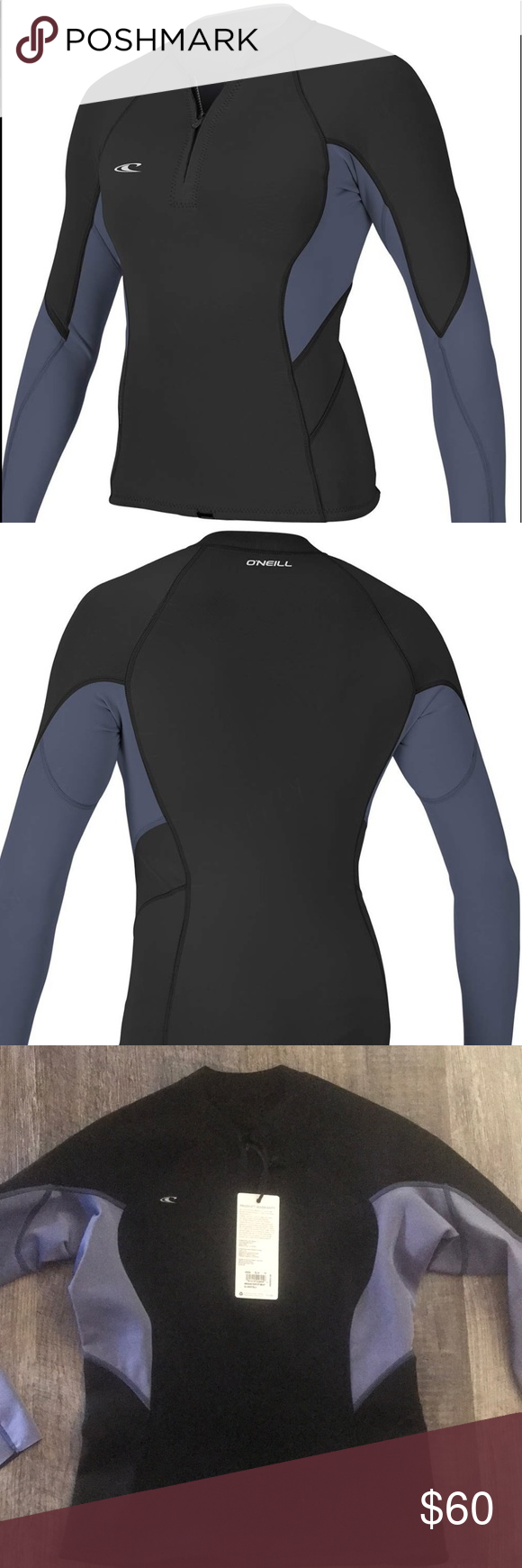 O Neill Womens Bahia 1 5mm Front Zip Wet Suit Nwt Wetsuit Women Oneill Swim
