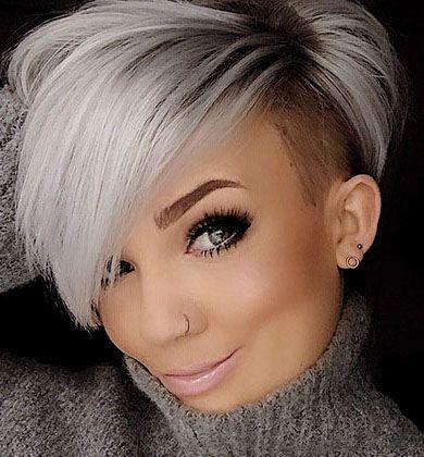 30 Shaved Sides Haircut Female Ideas Im Jahr 2019 In 2020 Haarschnitt Kurz Kurzhaarschnitte Frisuren Kurze Haare Fransig