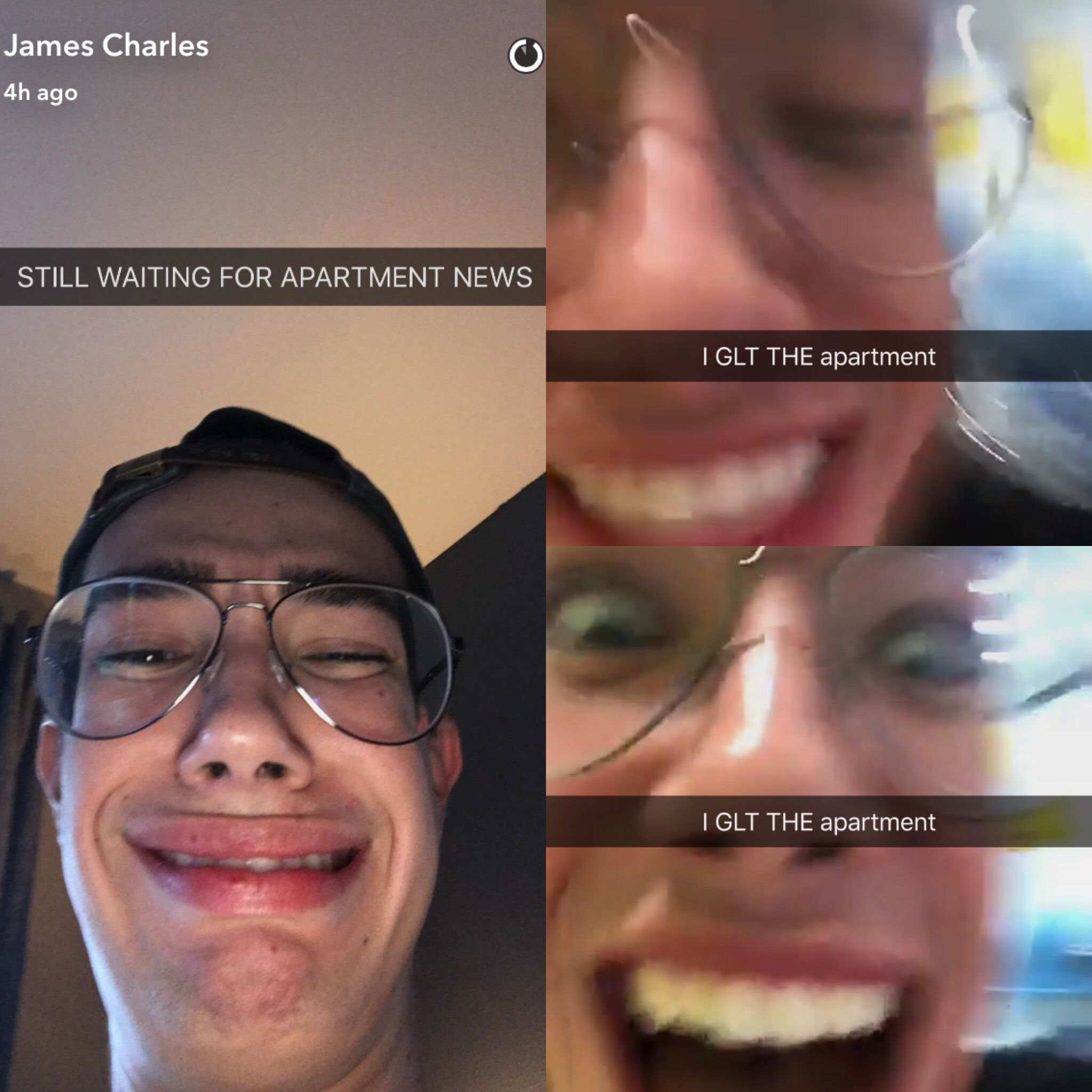 James Got The Apartment He's Wanted And Already