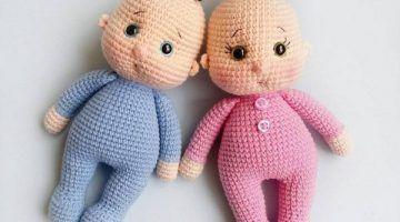 Amigurumi Little Baby FREE PATTERN #dollhats