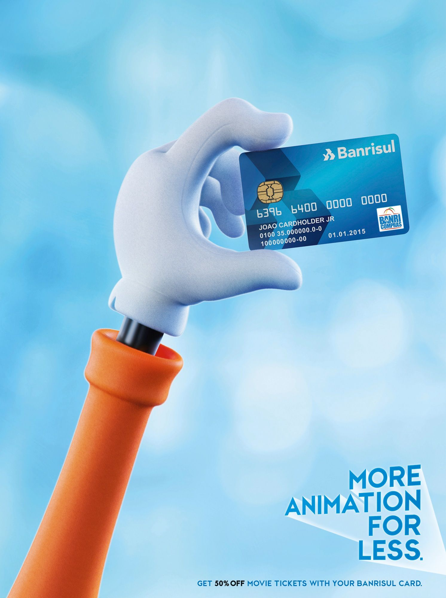 More Action For Less Credit Card Design Banks Ads Business Credit Cards
