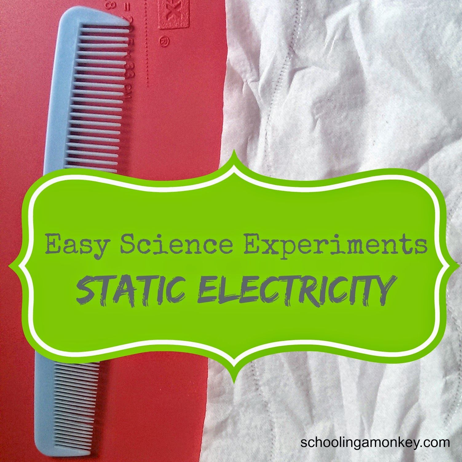 Static Electricity Science Experiment With Images