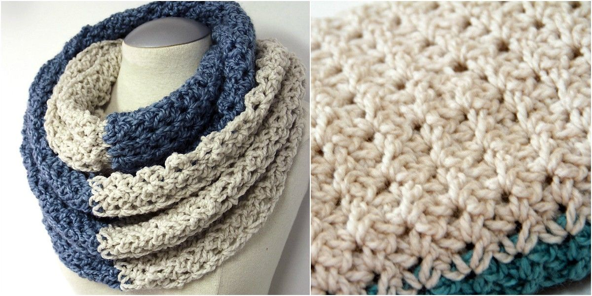 Free Pattern] Crochet Neck Warmer is what you needs