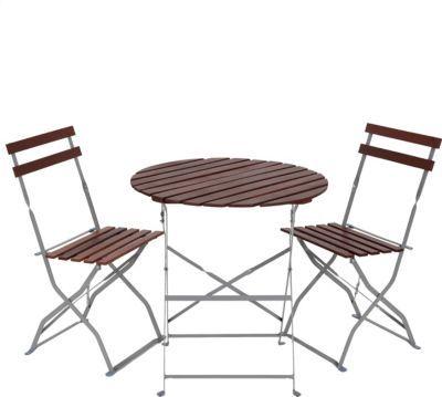 Heute Wohnen Biergarten Garnitur Dia Bistro Set Garten Tisch Stühle Akazie Geölt Jetzt Bestellen Unter
