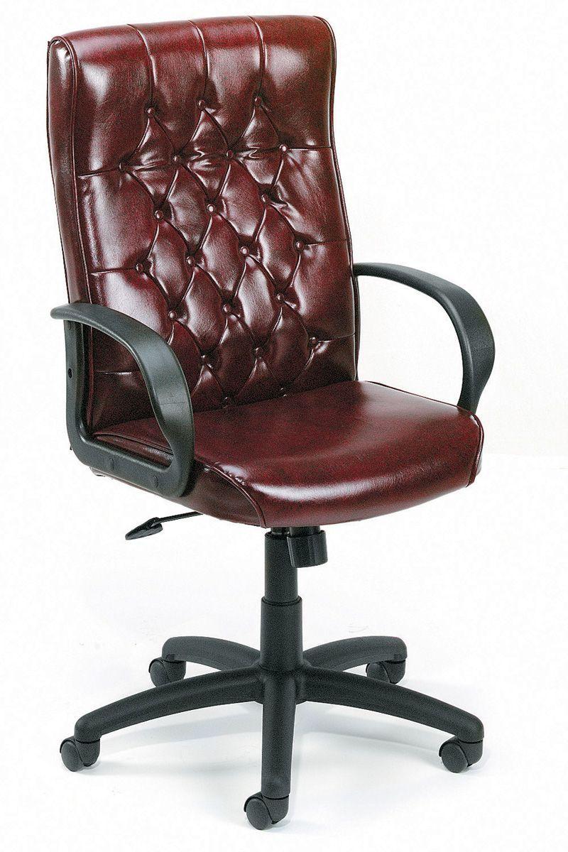 Executive Leather Office Chair Burostuhl Stuhl Leder Stuhle