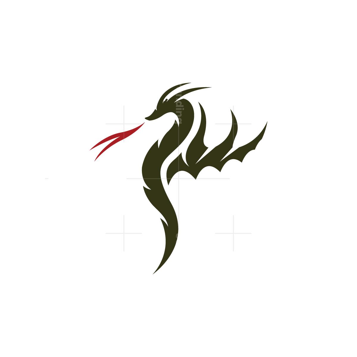 Fire Dragon Logo Logo Dragon Fire Dragon Dragon