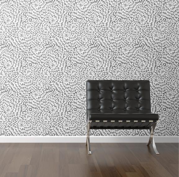 Removable Wallpaper - Teardrops
