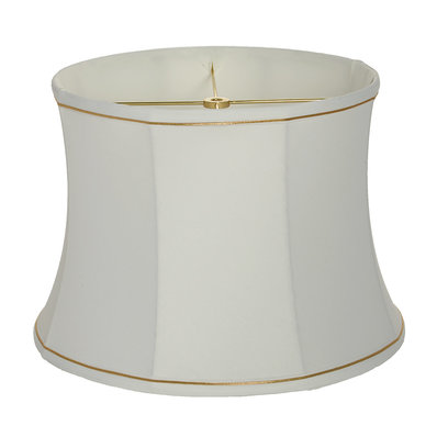 14 Corsette Drum Lamp Shade With Trim In 2020 Lamp Shade Lamp