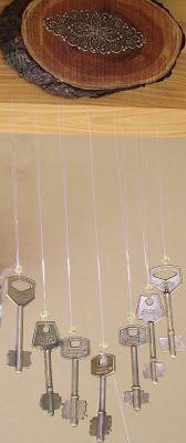 Haciendo Manualidades Llamador De Angeles Con Llaves Viejas