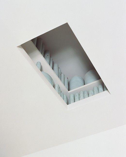 Porcelain Room, detail of Attic, 2001, Edmund de Waal