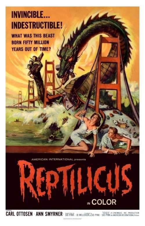 Reptilicus (1961) Monstermovie