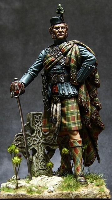 Scottisch nobleman by ronald Corné · Putty&Paint