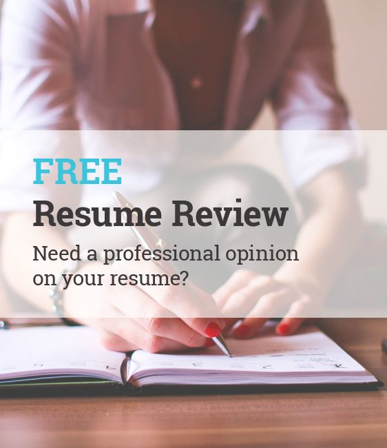 FREE Resume Review And Evaluation Need A Professional Opinion On Your Resume?  Http:/
