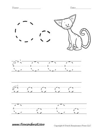 letter c handwriting worksheet alphabet printables handwriting worksheets handwriting. Black Bedroom Furniture Sets. Home Design Ideas