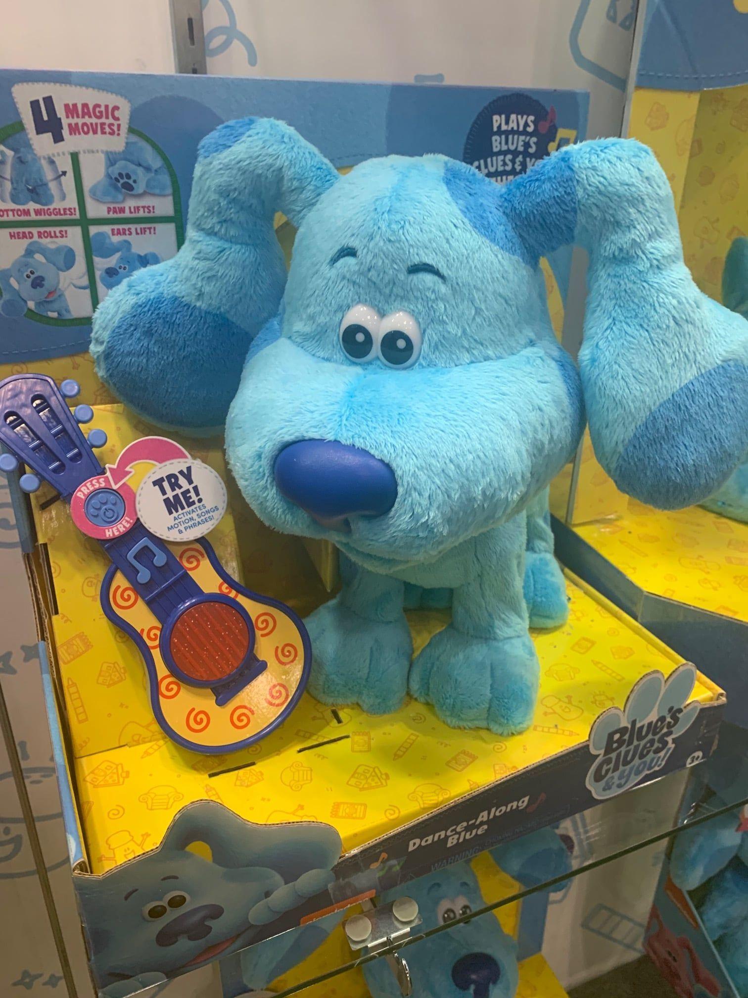 Blue S Clues You Dance Along Blue Plush In 2020 Blues Clues Dinosaur Toys 1st Boy Birthday