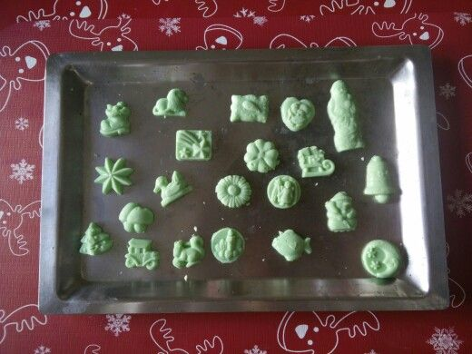 White chocolate and food coloring | i made it... food | Pinterest ...
