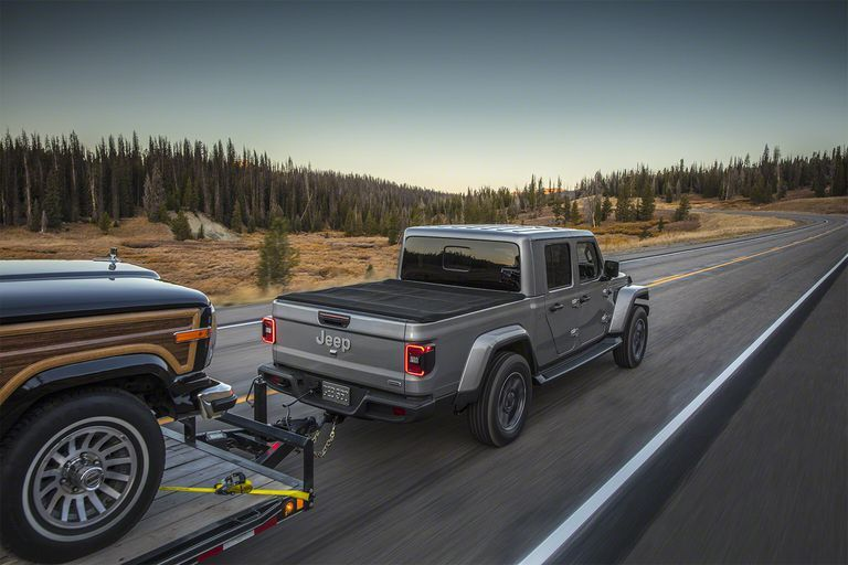 Why the Diesel Jeep Gladiator Pickup Tows Less Than the