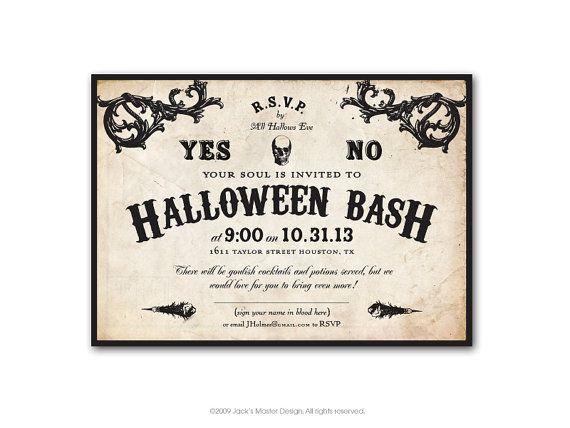 halloween ouija board invitation printable by jacksmaster. Black Bedroom Furniture Sets. Home Design Ideas
