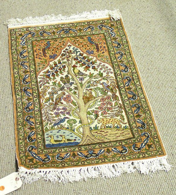 6223 Persian Tabriz Tree Of Life Rug Carpet Motif